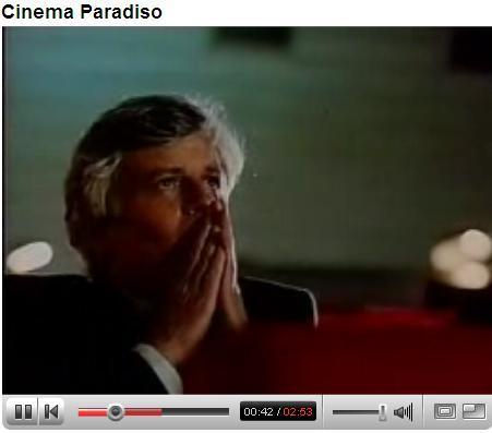 Nuovo Cinema Paradiso scena finale
